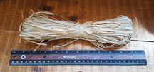 Natural Raffia (2oz)