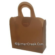 Chocolate Frosted Gift Tote *Surplus