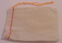 "3"" x 5"" Cotton Cloth Bags"