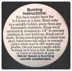 "1 1/4"" Pillar Warning/Caution Labels"
