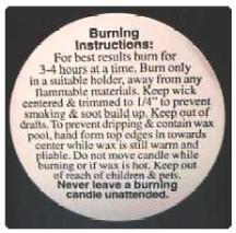 "2"" Pillar Warning/Caution Labels"