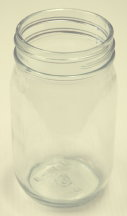 16 oz. Straight Side Jelly Jar (12) Per Case *No Lid*