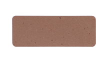 "2 5/8x1"" Kraft Brown 30 Labels (5160)"