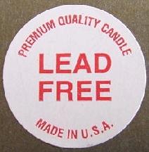 "1"" Lead Free Labels"