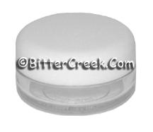 Lip Balm Pot w/White Cap