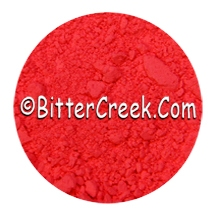 Red Orange Cosmetic Florescents in Powder Form (1oz)