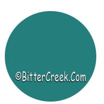 Turquoise Cosmetic Liquid Dye