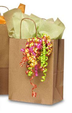 Kraft Brown Handle Bag (25pk)