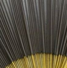 Black Incense Sticks - 19""