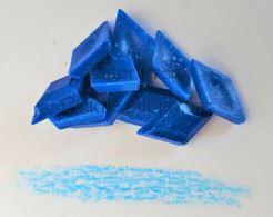 Baby Blue Fluorescent Diamond Pigment Chips