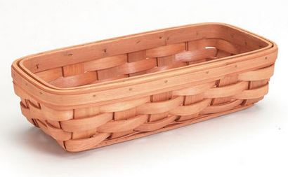 Wooden Tray Basket *NEW