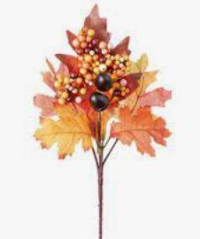 "Oak Leaf Acorn Branch (7x12"") *NEW"