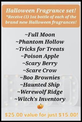 HALLOWEEN Fragrance Set! *NEW!