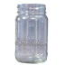 16oz Square Mason Jar (12) Per Case *No Lid*