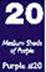 Purple #20 Dye Block