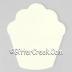 Cupcake Air Freshener Blank