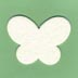 Butterfly Air Freshener Blank