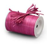 "Cerise ""Raffia Ribbon"" Roll *NEW"