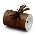 "Chocolate ""Raffia Ribbon"" Roll *NEW"