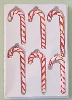 "Candy Canes 3.5-4.5""  Set of 6"