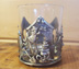 Tumbler with Pewter House with Christmas Tree & Snowman *Limited Edition!