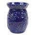Wax Melt (tart) Warmer Floral Blue