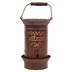Punched Tin Melt (tart) Warmer Welcome/House