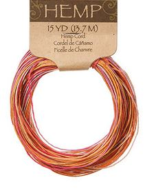 Juicy Fruit Hemp Cord (15yds) *NEW