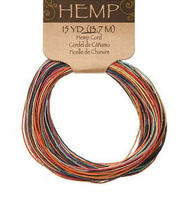 Rainbow Hemp Cord (15yds) *NEW