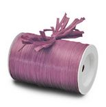 "Plum ""Raffia Ribbon"" Roll *NEW"