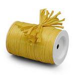 """Yellow """"Raffia Ribbon"""" Roll *NEW"""